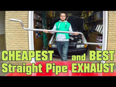 How to Straight Pipe Your Car (BMW E36 V8)