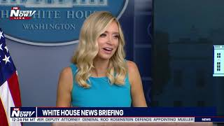 TAKING ON JIM ACOSTA: Kayleigh McEnany Reminds Acosta That Police Need To Be Protected