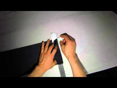 How to make cuffs for kid Pants part 1