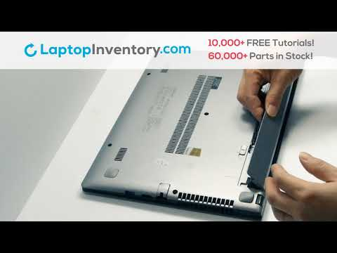 Lenovo IdeaPad S415 Battery Installation Replacement Guide Install Laptop S300 S400 U300 U400