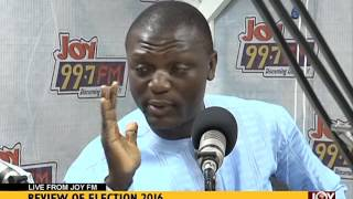 Review of Election 2016, Live from Joy FM - Joy News (12-12-16)