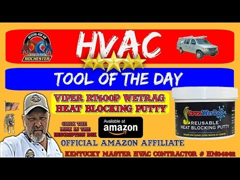 Viper Wetrag Heat Blocking Putty : HVAC Tool of the Day