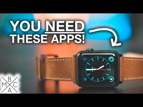 The BEST Apple Watch Apps YOU NEED TO HAVE! ⌚️