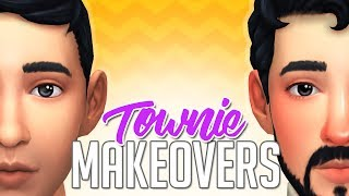 THE FYRES HOUSEHOLD // The Sims 4: Townie Makeover