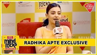 Radhika Apte Exclusive On Personal Life, Netflix Memes, #MeToo Moment & More | Mind rocks 2018