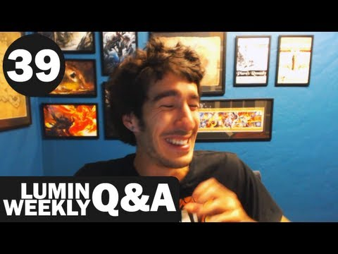 Weekly Q&A #39 - PG Rating, Helene's First Impressions of Lumin, Girls & More!