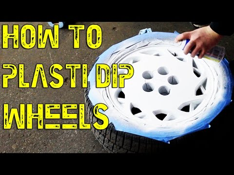 How To Plasti Dip Wheels White | 1JZGTE MKIII Supra | Plasti Dip Rims