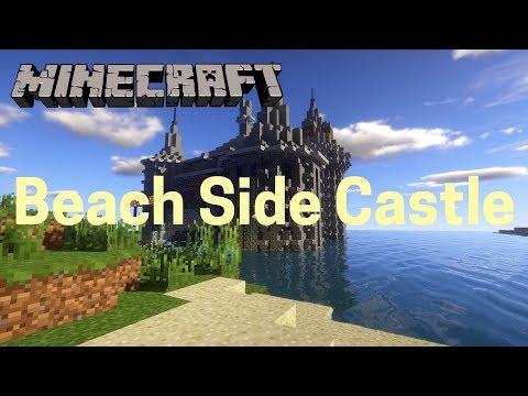Minecraft Timelapse: Beach Side Castle