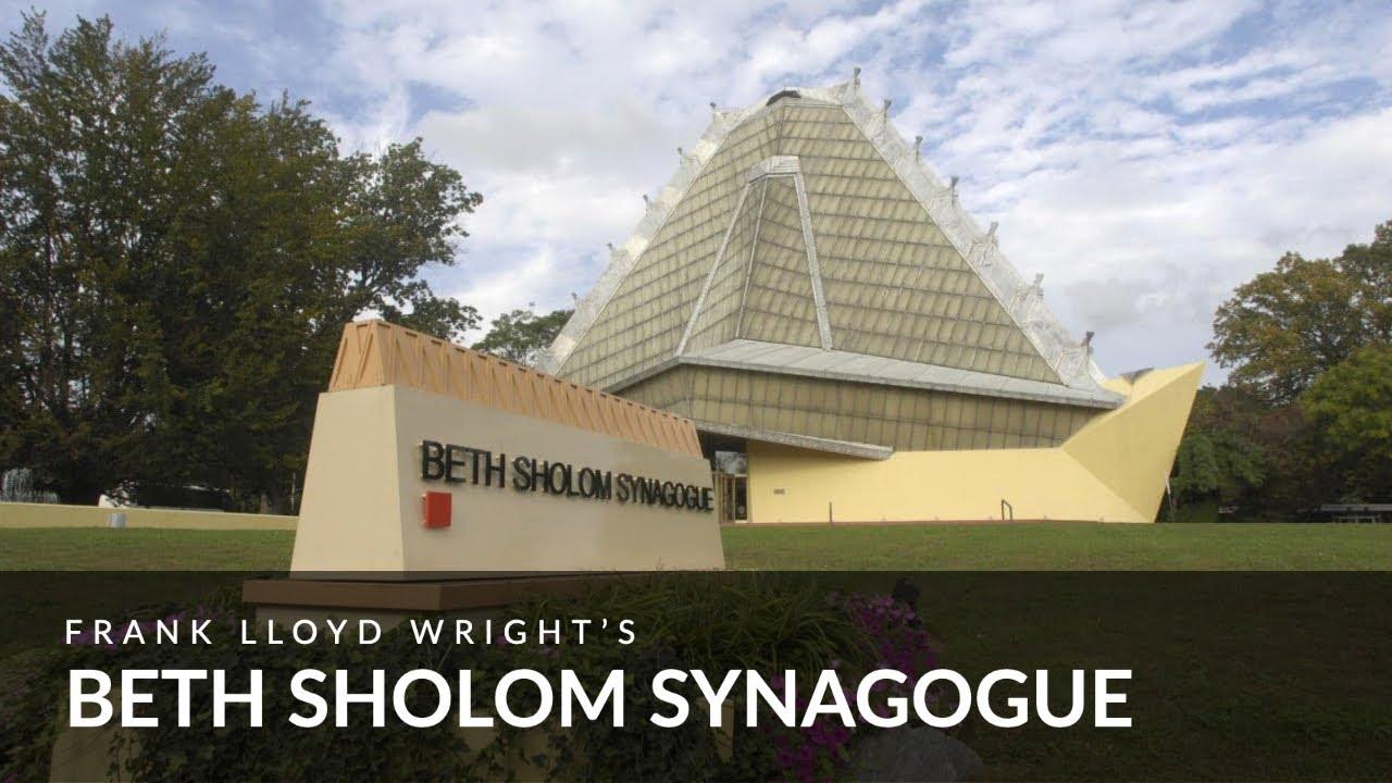 Frank Lloyd Wright's Beth Shalom Synagogue