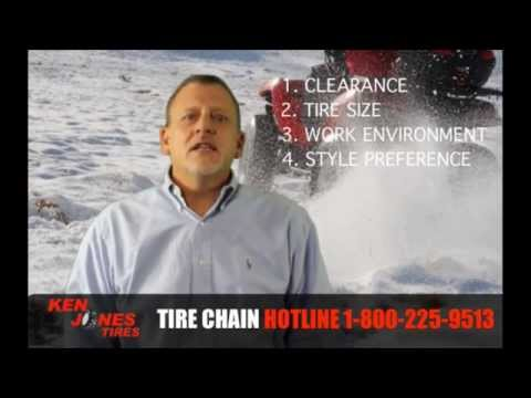 How to Choose the Right ATV Tire Chains   Call 1-877-844-2010