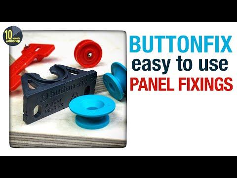 Buttonfix - hidden panel fixings that work really well #058