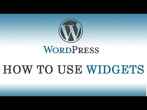 8.) How to use Widgets in wordpress || Also Header & Background Image Explanation (Hindi/Urdu)
