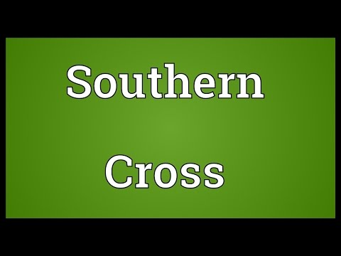 Southern Cross Meaning