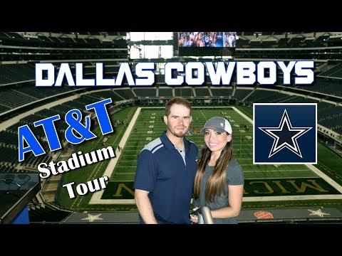 AT&T STADIUM TOUR - DALLAS COWBOYS STADIUM