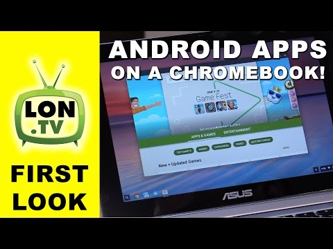 Android Apps Come to Chromebooks - Skype, Retro Emulation, Games, Word and More