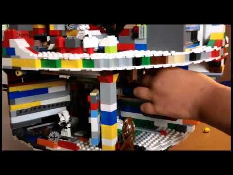 Lego Death Star made by Zachary