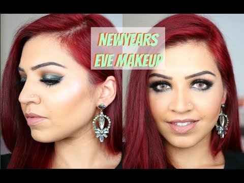 NEW YEARS EVE MAKEUP TUTORIAL | SABA ALI
