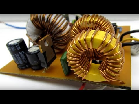 Auto turn-off for car battery charger (part 3)