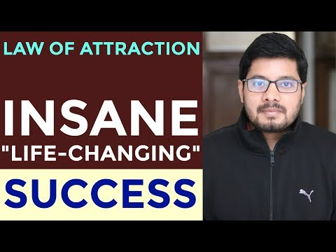 MANIFESTATION #98: LIFE-CHANGING SUCCESS Attracted Fast! - EXTREMELY MOTIVATING | Law of Attraction