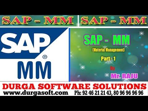 SAP MM SAP-MM(Material Management) Part - 1 by Raju