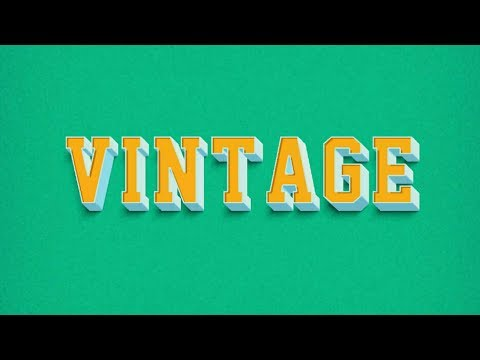 HOW TO MAKE VINTAGE 3D TEXT ON ANDROID