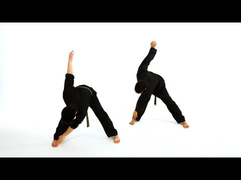 How to Do Basic Standing Stretches | Taekwondo Training