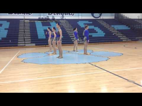 Woodbury High School Dance Team Jazz 2015