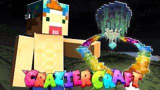 BUILDING MY FIRST HOUSE!! | CrazierCraft #2