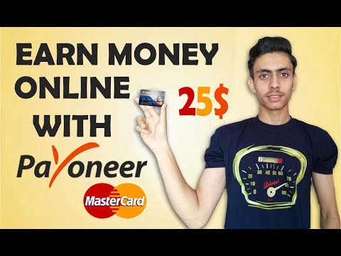 {Urdu/Hindi} How To Earn Money Online - With Payoneer Affiliate Program 2017