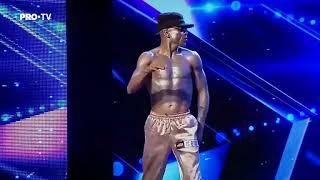 Romanii au talent 2018 - Jean Pierre Obiang - breakdance