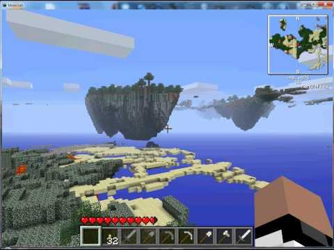 Minecraft the skylands!!!