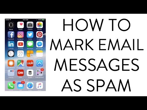HOW TO MARK EMAIL MESSAGES AS SPAM ON IPHONE