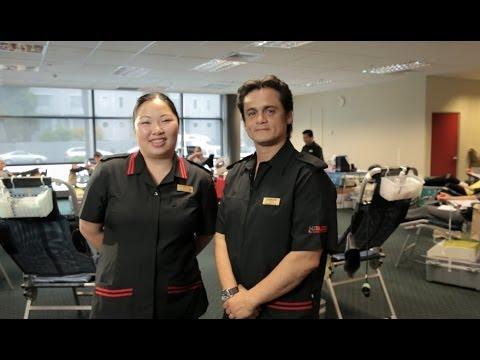 New Zealand Blood Service Nurses