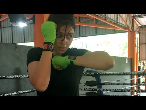 Muay Thai Elbow Strikes I Sapna Vyas