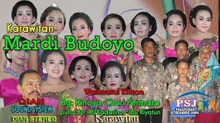 LIVE TAYUB SRAGENAN MARDI BUDOYO .. DIAN SOUND STEREO SYSTEM... JMS SHOOTING