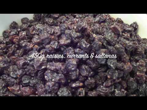 The Best Traditional Christmas Fruit Cake Recipe!