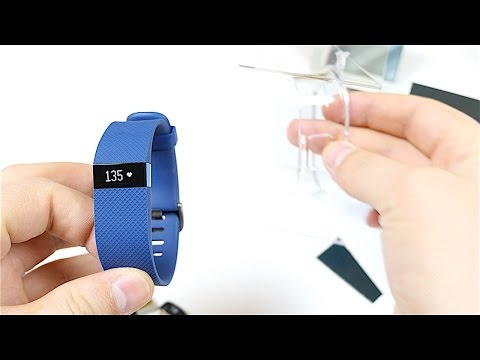 Fitbit Charge HR Unboxing and Setup