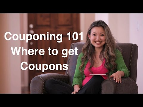 ✄ Where to Get Coupons?