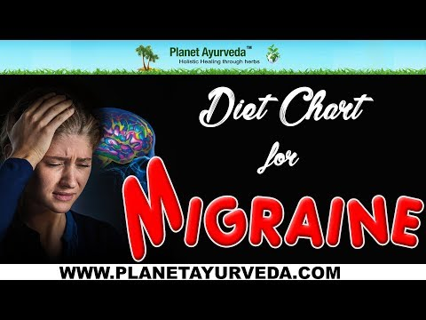 Diet Chart for Migraine Problem - Foods To Avoid & Recommend