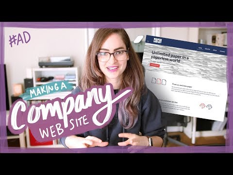 Advice for designing a company website - with Webflow