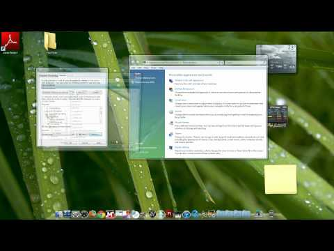 How to make windows vista and 7 icons bigger and change sound on applications
