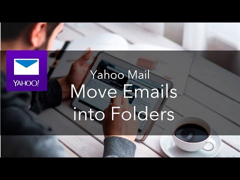 Moving Mail to a Folder in Yahoo Mail