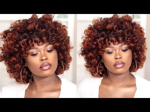 DIY| The Perfect Fall/Autumn Curly Fro Ft Unice