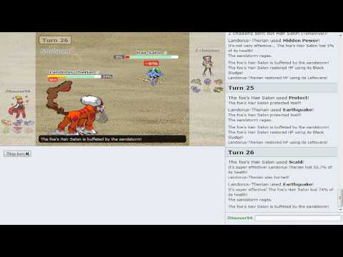 Pokemon Showdown Battle Series [OU] - Battle #12