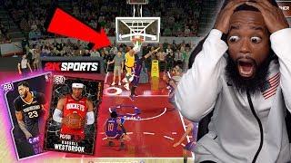 WESTBROOK POSTERIZED ANTHONY DAVIS! NBA 2K20 MyTeam