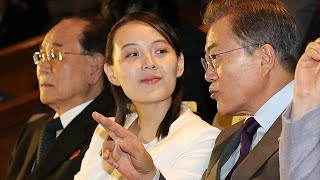 #x202b;شقيقة الزعيم الكوري تغادر كوريا الجنوبية وسط مساع لتخفيف التوتر#x202c;lrm;