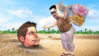 दफन चोर और किसान Buried Thief Farmer Comedy Video हिदी कहानिय Hindi Kahaniya Stories Comedy Video