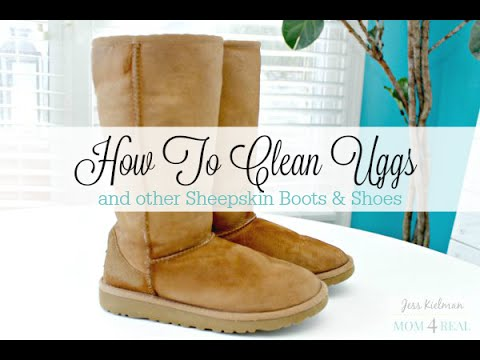 How To Clean Uggs or Sheepskin Boots At Home