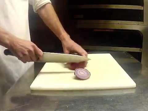 How To Half Moon An Onion