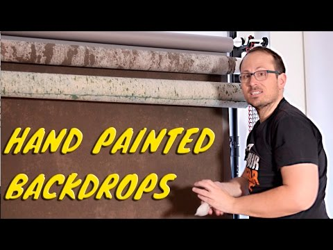 Hand Painted Photography Backdrops